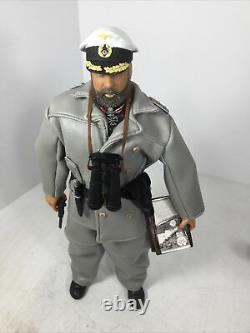 1/6 21st Century German Navy Kriegsmarine U Boat Captain + Luger Ww2 Dragon Bbi