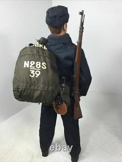 1/6 DRAGON GERMAN KRIEGSMARINE U BOAT SEAMAN+SEABAG K-98 +CIG WW2 DID BBI 21st