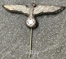 100% Original WW2 German Kriegsmarine Administrative Officials Visor Cap Eagle