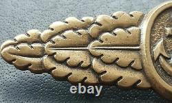 10732 German Kriegsmarine Naval Combat Clasp post WW2 1957 pattern maker ST&L