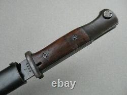 1937 W. K. C Kriegsmarine North Sea German WWII Mauser K98 bayonet k 98 k98k Luger