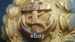 6799 German Navy Kriegsmarine officer parade belt buckle gold WW2 Dolchkoppel