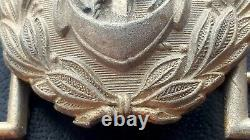 9140 German Navy Kriegsmarine officer parade belt buckle gold WW2 Dolchkoppel