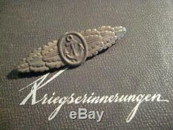 Close combat clasp of German Kriegsmarine WW II rare from war ships solider 1945