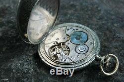 DOXA GERMAN WW2 U-BOAT U-1064 11. FLOTILLA KRIEGSMARINE 54 mm Pocket Watch