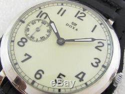DOXA K. M. Kriegsmarin German Navy WW II Vintage 1939-1945 Swiss Men's Watch