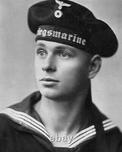 Early World War II German Navy (Kriegsmarine) Rating's Wire-weave Cap Tally Band