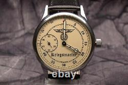GERMAN NAVY FLEET KM KRIEGSMARINE U-BOOT BOAT MILITARY WATCH ww2 type EXCELLENT