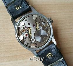 Genuine WW2 German Kriegsmarine Alpina KM 592 Wrist Watch German Naval Watch