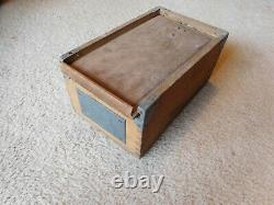 German Navy Kriegsmarine WWI WWII Enlisted Sailors Dittybox Sea Chest RARE 1