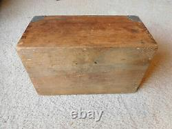 German Navy Kriegsmarine WWI WWII Enlisted Sailors Dittybox Sea Chest RARE #2