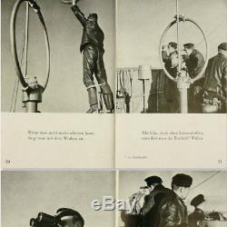 German WW2 Mine Sweeping Flotilla Kriegsmarine Book 1943 Naval Navy Minesweeper