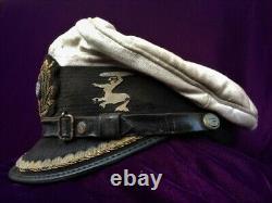 German WW2 Style u-boat Kriegsmarine Captain Visor Hat Cap U-563 Museum Quality