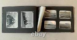 German WW2 photo album 89x Kriegsmarine, big Battle ships