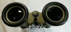 German WWII U-boat Kriegsmarine Binoculars 7x50 Carl Zeiss Submarine WW2