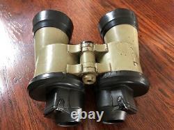 German WWII U-boat Kriegsmarine Binoculars 7x50 Carl Zeiss Submarine WW2 Nazi