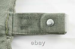 German WWII WW2 Early KM M31 Bread Bag Brotbeutel MINT Kriegsmarine Navy 1939