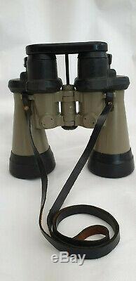 German Wwii Kriegsmarine U-boat Binoculars Carl Zeiss 7 X 50