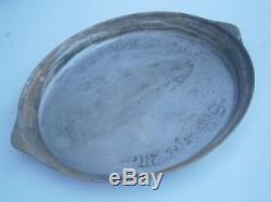 German ww2 Big Salver WWII Tray U-Boat Black Sea Navy Kriegsmarine Germany Plate