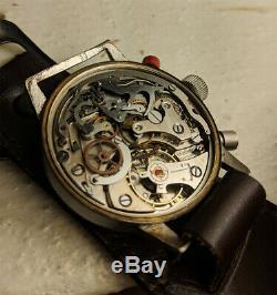 Hanhart flyback chronograph WW2 German Kriegsmarine