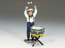 KING AND COUNTRY WW2 German Kriegsmarine Kettle Drummer LAH162