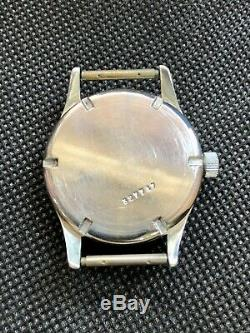 KM Kriegsmarine Alpina 592 Rare Military German Wrist Watch World War II Times
