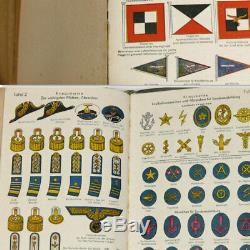 Kriegsmarine WW2 Pocketbook 1944 German Navy Wehrmacht Calendar Color Plates