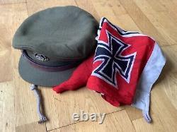 Kriegsmarine item found with british ww2 hat, German u boat submarine