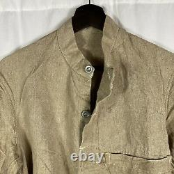 Mint Original Wwii German Kriegsmarine Navy Trellis Tackle Shirt Pullover