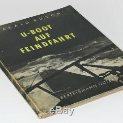 Navy WW2 U-Boat PHOTO Book 1940s German Kriegsmarine Enemy Patrol U101 Submarine
