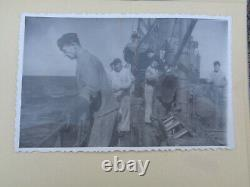 ORIGINAL WWII GERMAN PHOTO Album military KRIEGSMARINE U-BOAT