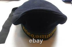 Original German WW 2 Kriegsmarine Cap Sailor Hat