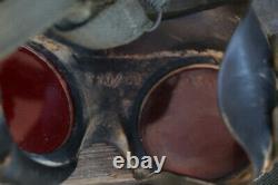 Original German WWII Kriegsmarine Night Adaptation Goggles Made By Auer