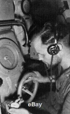 Original German WWII Kriegsmarine U-boat Torpedo Timer Stop Watch by Hanhart