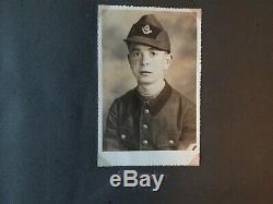 Original WW2 GERMAN SOLDIER Personal Photo Album R. A. D. Kriegsmarine