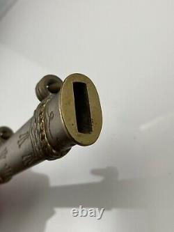 Original WW2 German Kriegsmarine Scabbard Brass Engraved Militaria Genuine