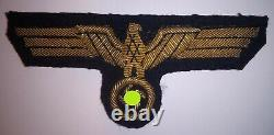 Original WW2 aigle poitrine officier KRIEGSMARINE german officer breast eagle KM