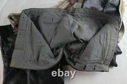 Original World War 2 German Kriegsmarine Protective Leather Pants