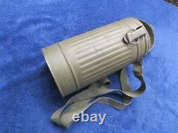 Original Ww2 German Kriegsmarine Navy Gas Mask And Canister