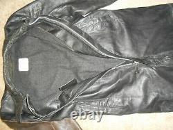Original Wwii German Kriegsmarine Leather Coveralls