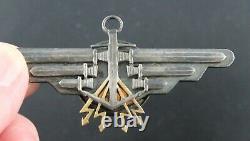 Polish German World War II Axis Naval Kriegsmarine Radio Operator Wing