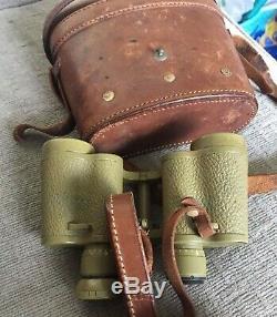 RARE GERMAN WWII Kriegsmarine NAVY ARTILLERY CARL ZEISS JENA 6x30 binoculars