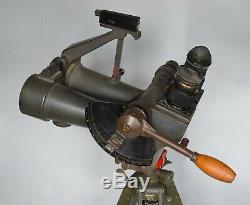 RARE Vintage WWII German 10x80 Kriegsmarine Observation Binoculars EUG Zeiss BLC