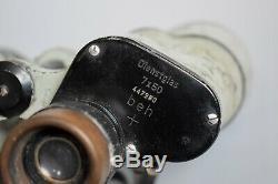 RARE Vintage WWII German 7x50 Binoculars BEH Leitz Dienstglas Kriegsmarine
