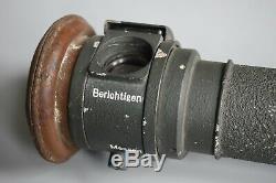 RARE Vintage WWII German Kriegsmarine EM 1,25 Rangefinder Entfernungsmesser BPD