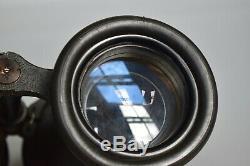 RARE Vintage WWII German Leitz 8x60 Kriegsmarine U-Boat Commander Binoculars