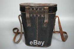 RARE WWII German Kriegsmarine Leitz 7x50 U Boat Binoculars Case