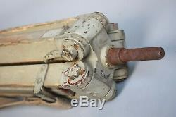 RARE WWII German Kriegsmarine Optic Binocular Tripod Gestell Dreibein Original