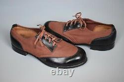 RARE WWII German Kriegsmarine U-Boat Deck Shoes BAW 1941 Original Matching Pair