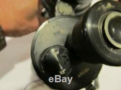 Rare 1940's Ww2 German U-boat Kriegsmarine Navel Binoculars 7x50 Beh Leitz
